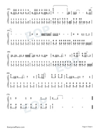 The Climb-Hannah Montana: The Movie OST-Numbered-Musical-Notation-Preview-4