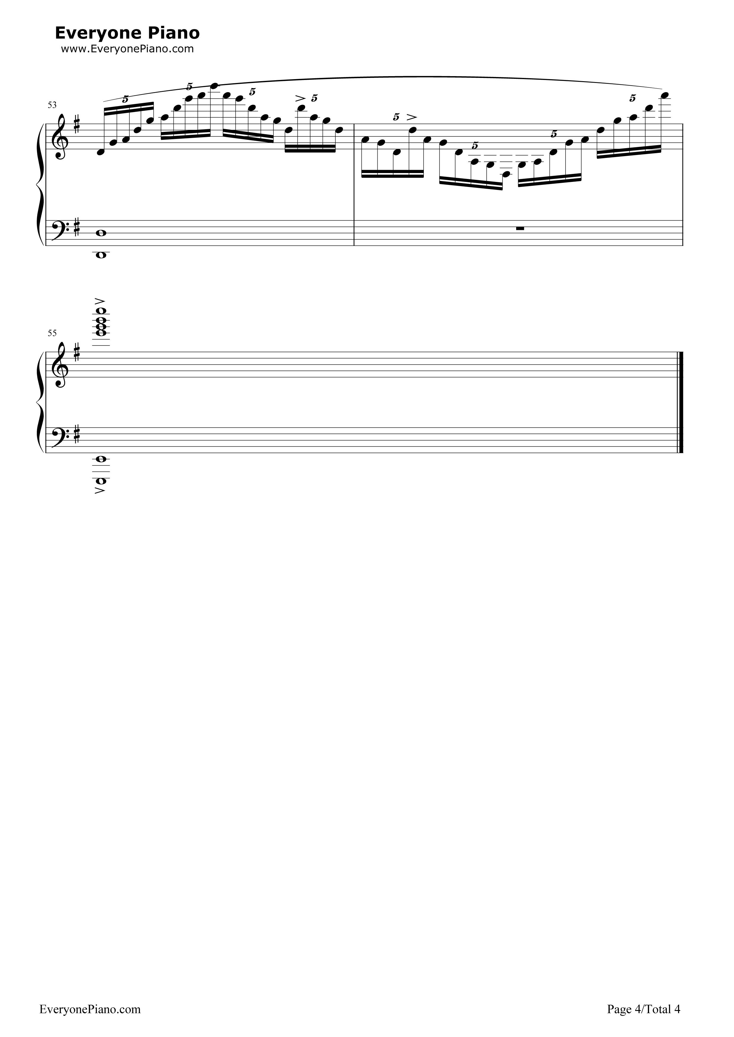 no game no life piano sheet pdf