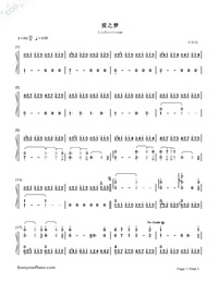 Liebestraum-Dreams of Love-Franz Liszt-Numbered-Musical-Notation-Preview-1