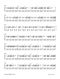 Crazy in Love-Beyoncé-Numbered-Musical-Notation-Preview-2