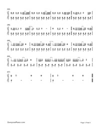 Crazy in Love-Beyoncé-Numbered-Musical-Notation-Preview-3