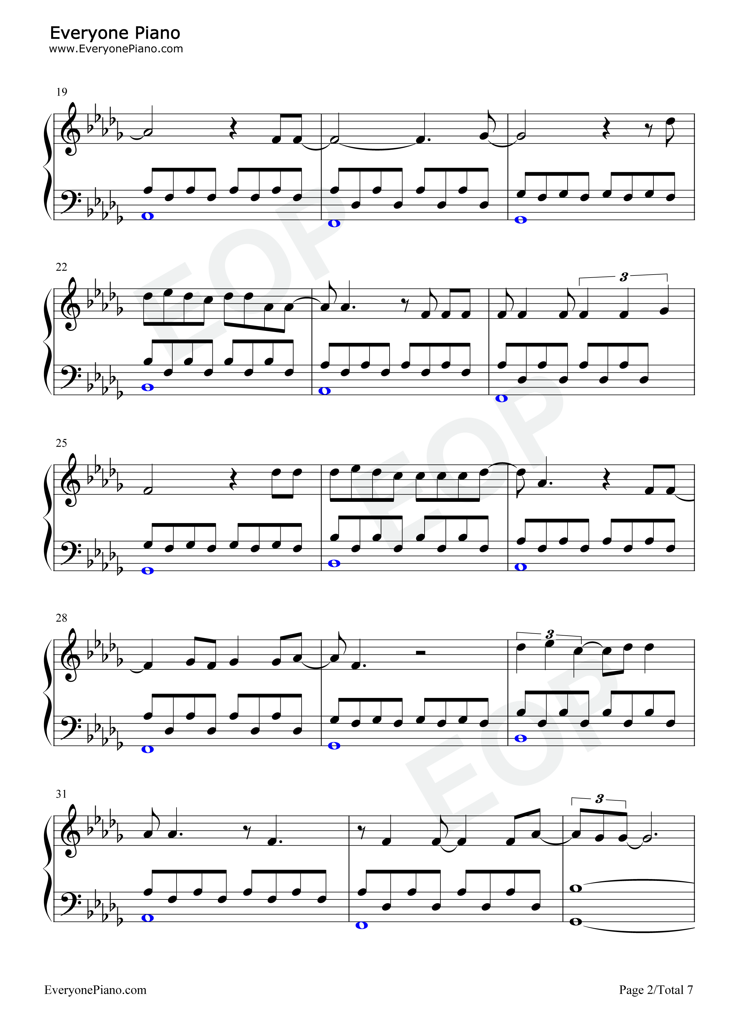 Hometown glory adele stave preview 2 free piano sheet music listen now print sheet hometown glory adele stave preview 2 hexwebz Gallery