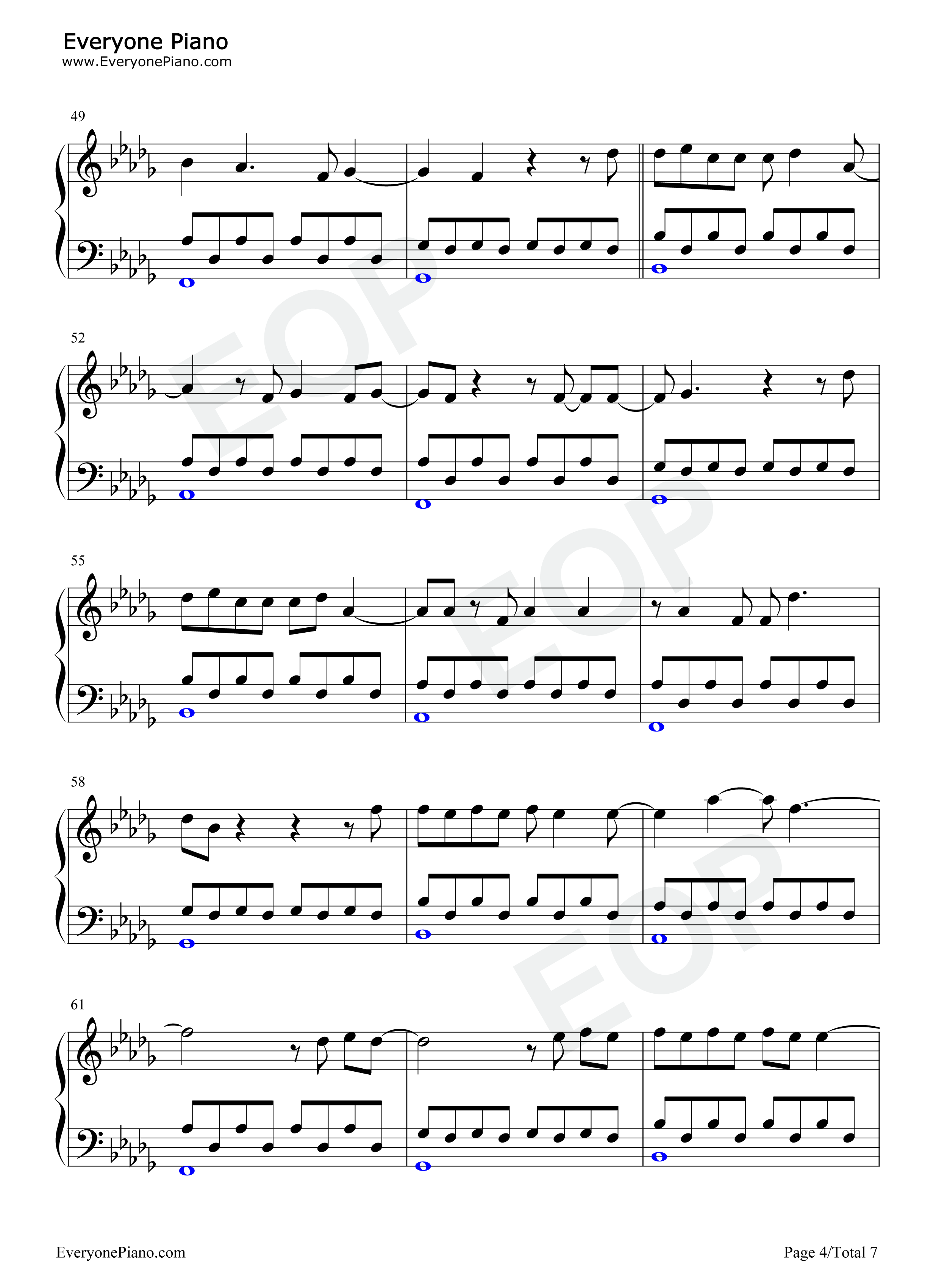 Hometown glory adele stave preview 4 free piano sheet music listen now print sheet hometown glory adele stave preview 4 hexwebz Gallery