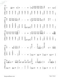 旅立ちの日に-合唱曲両手略譜プレビュー2