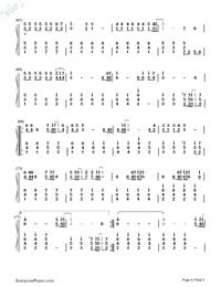 旅立ちの日に-合唱曲両手略譜プレビュー4