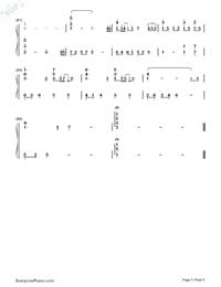 旅立ちの日に-合唱曲両手略譜プレビュー5
