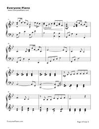旅立ちの日に-合唱曲五線譜プレビュー4