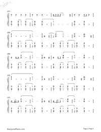 Chandelier-Sia Free Piano Sheet Music & Piano Chords
