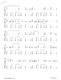Chandelier-Sia-Numbered-Musical-Notation-Preview-3