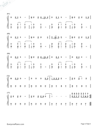 Chandelier-Sia-Numbered-Musical-Notation-Preview-4