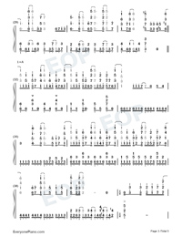 Trust in You-Date A Live II OP-Numbered-Musical-Notation-Preview-3