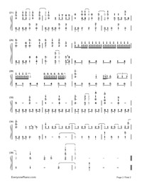 Tell Your World-Hatsune Miku-Numbered-Musical-Notation-Preview-2