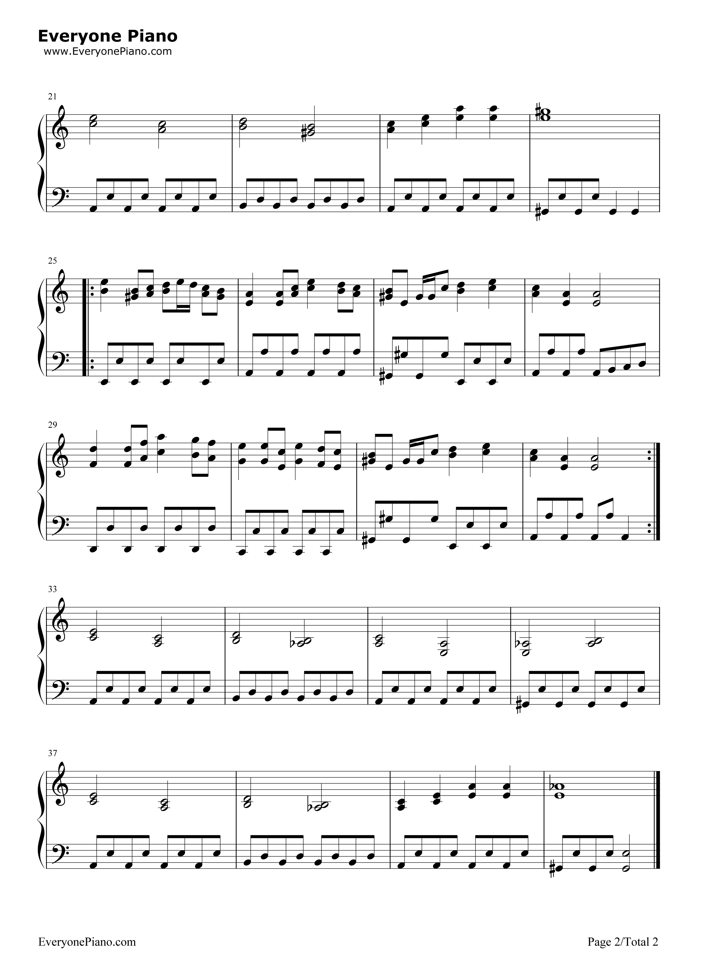 tetris theme piano sheet music pdf