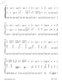 素敵だね-ファイナルファンタジーX主題歌両手略譜プレビュー2