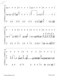 素敵だね-ファイナルファンタジーX主題歌両手略譜プレビュー4