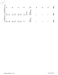 素敵だね-ファイナルファンタジーX主題歌両手略譜プレビュー6
