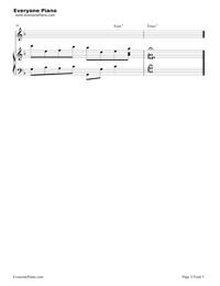 素敵だね-ファイナルファンタジーX主題歌五線譜プレビュー5