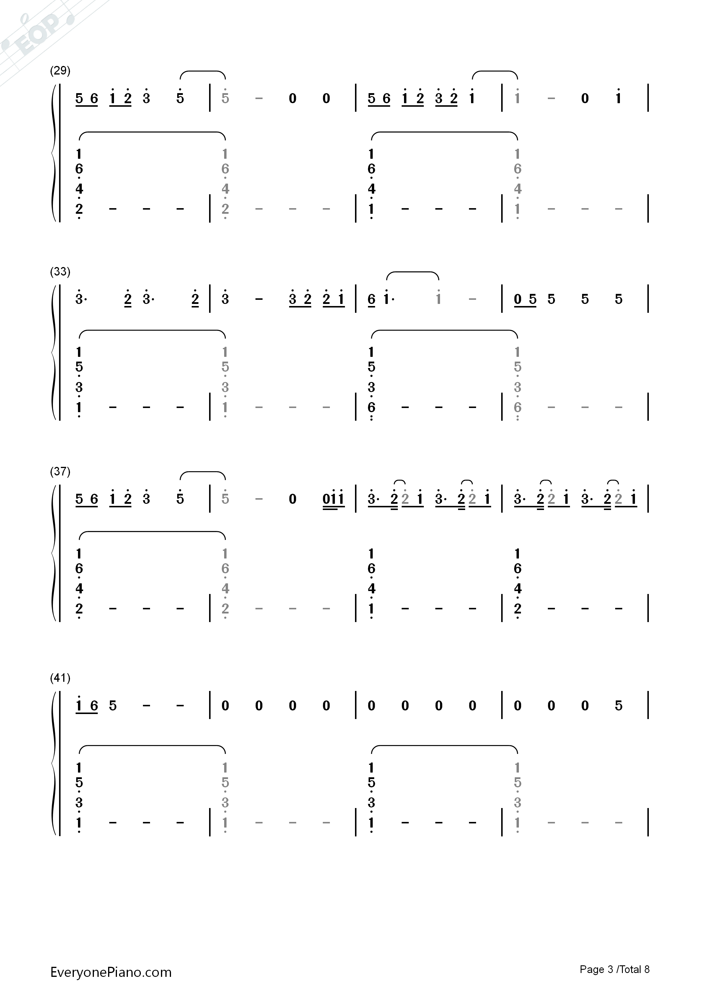 Lay me down sam smith numbered musical notation preview 3 free listen now print sheet lay me down sam smith numbered musical notation preview 3 hexwebz Images