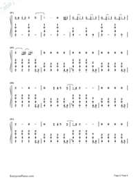 Lay Me Down-Sam Smith-Numbered-Musical-Notation-Preview-6