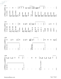 Lay Me Down-Sam Smith-Numbered-Musical-Notation-Preview-7