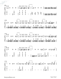 Love Never Felt So Good-Michael Jackson Numbered Musical Notation Preview 6