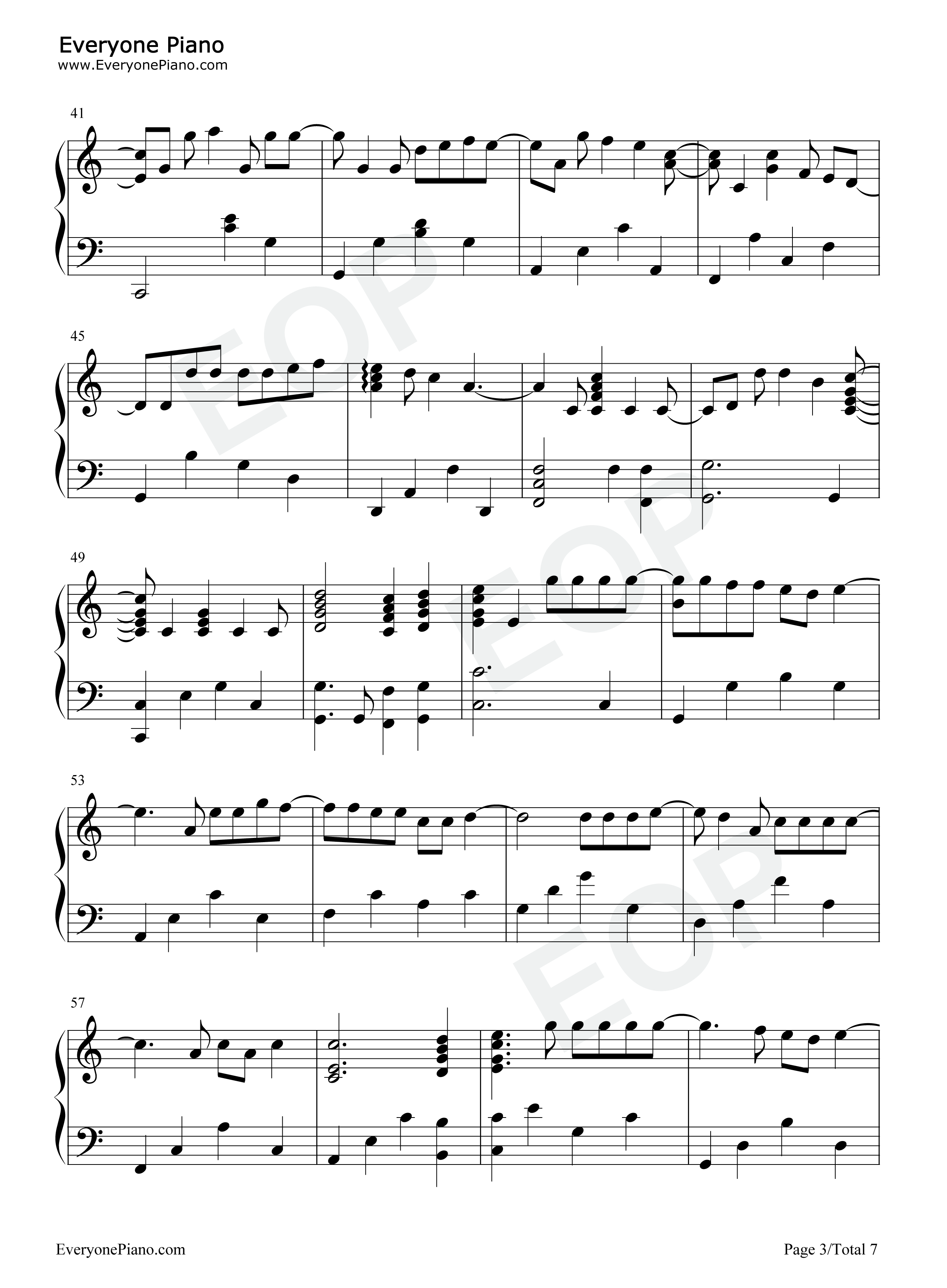 Forever Young-Alphaville Stave Preview -EOP Online Music Stand