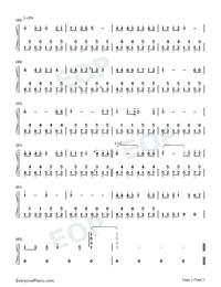 Kouon-chuu On'iki Test-Hatsune Miku-Numbered-Musical-Notation-Preview-3