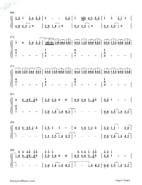 Latch-Disclosure&Sam Smith Numbered Musical Notation Preview 4