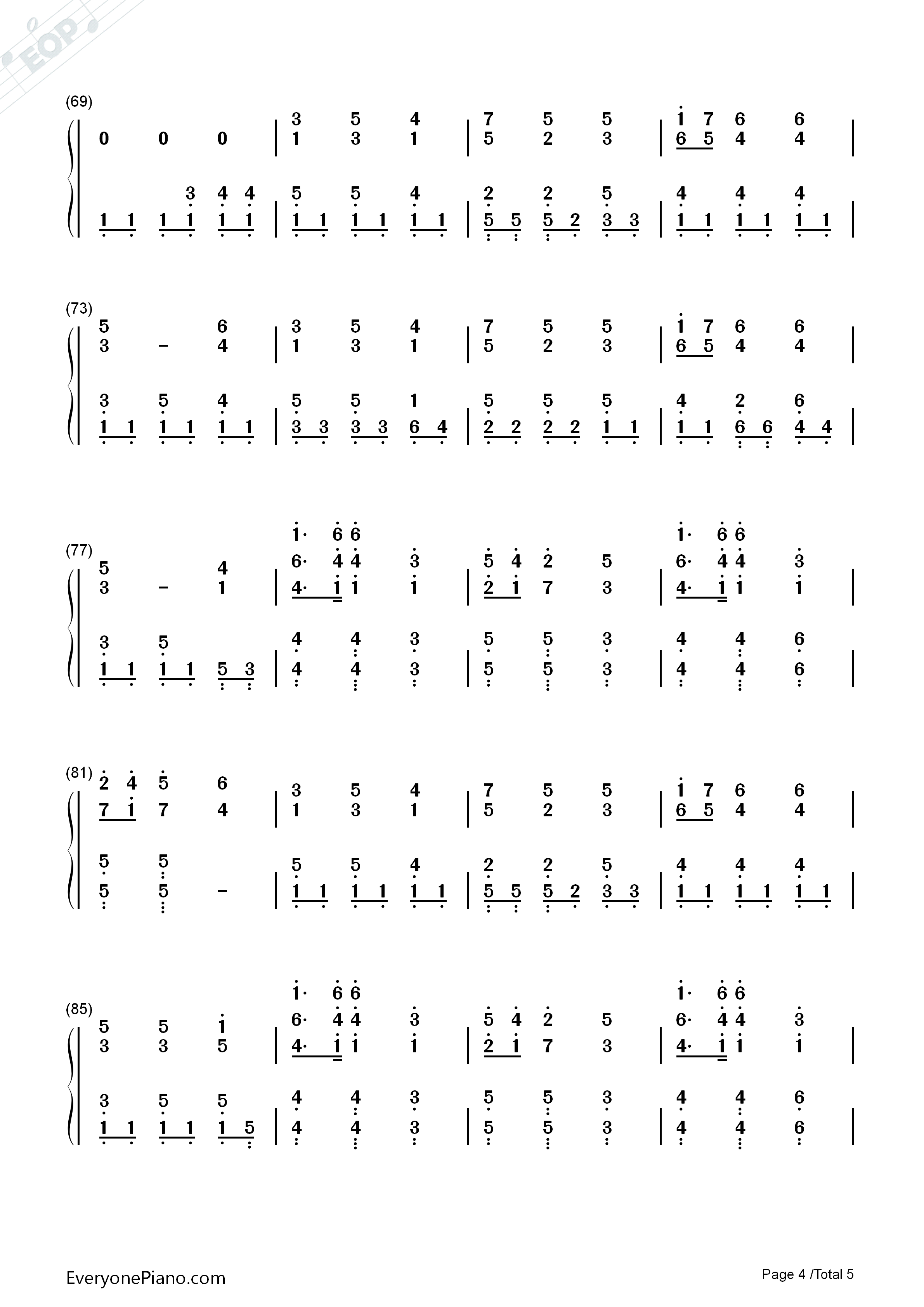 In christ alone owl city numbered musical notation preview 4 free listen now print sheet in christ alone owl city numbered musical notation preview 4 hexwebz Images