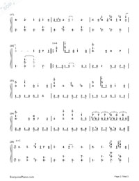 Dream a Little Dream of Me-Yiruma-Numbered-Musical-Notation-Preview-2