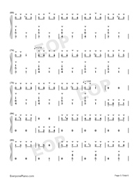 Hungarian Rhapsody No. 2-Franz Liszt-Numbered-Musical-Notation-Preview-5