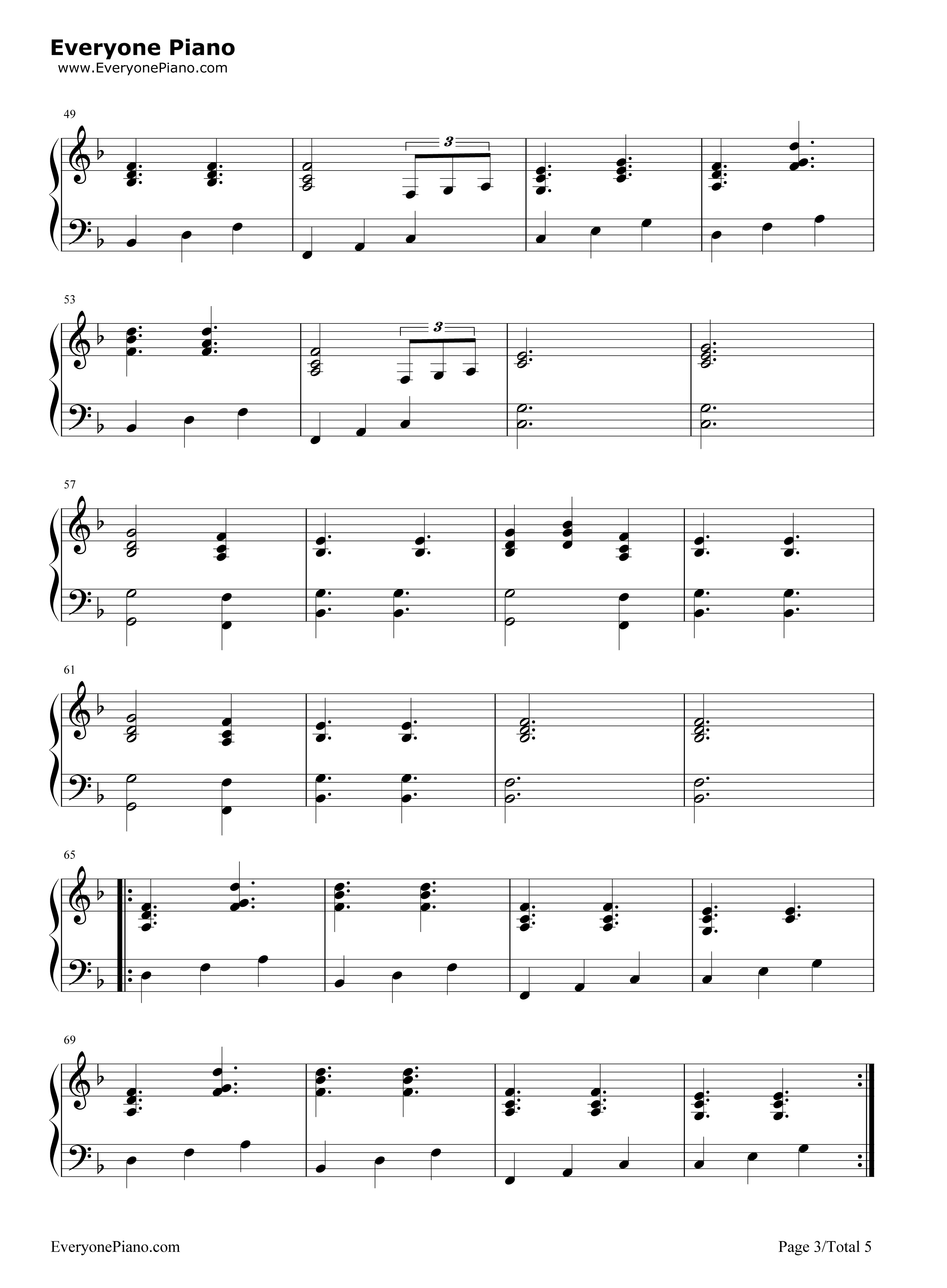 A drop in the ocean ron pope stave preview 3 free piano sheet listen now print sheet a drop in the ocean ron pope stave preview 3 hexwebz Image collections