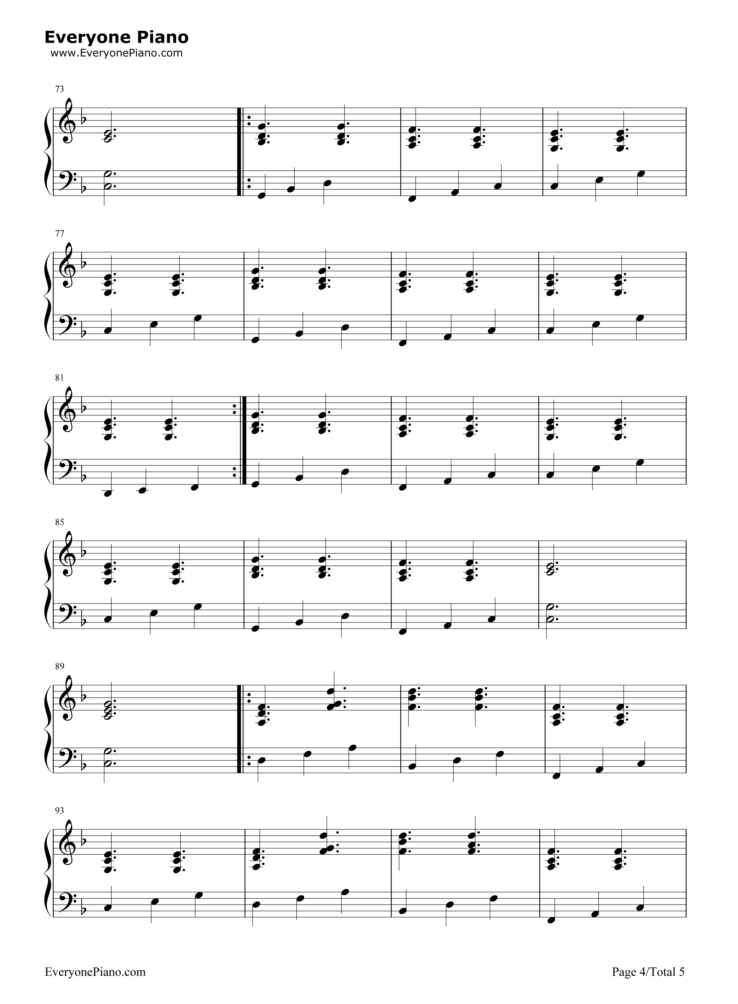 A drop in the ocean ron pope stave preview 4 free piano sheet listen now print sheet a drop in the ocean ron pope stave preview 4 hexwebz Image collections