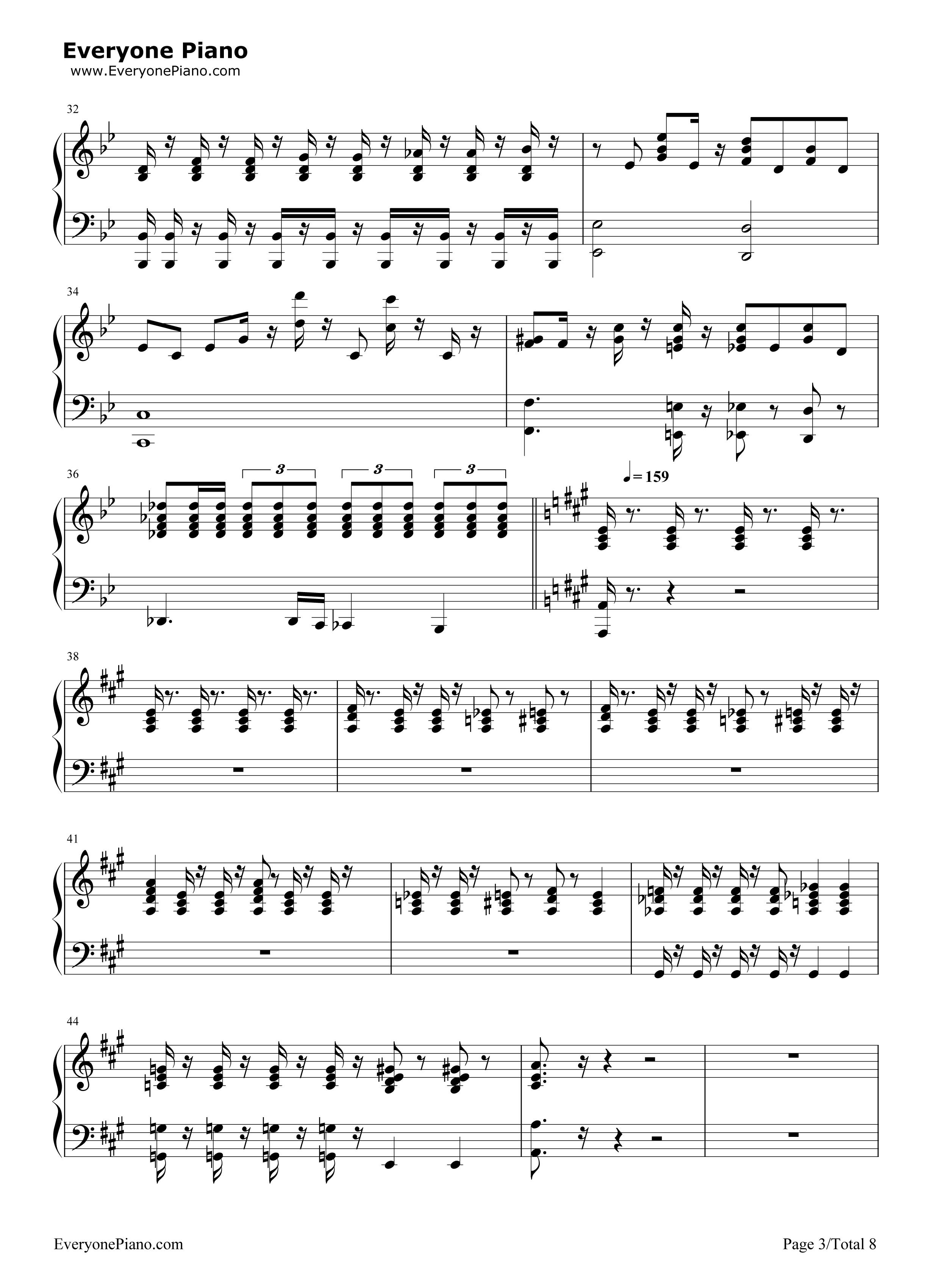 Bohemian Rhapsody Queen Free Piano Sheet Music Piano Chords