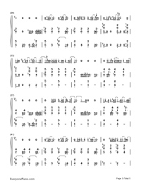 Sorry Seems to Be the Hardest Word-Elton John-Numbered-Musical-Notation-Preview-3