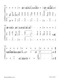 Sorry Seems to Be the Hardest Word-Elton John-Numbered-Musical-Notation-Preview-5