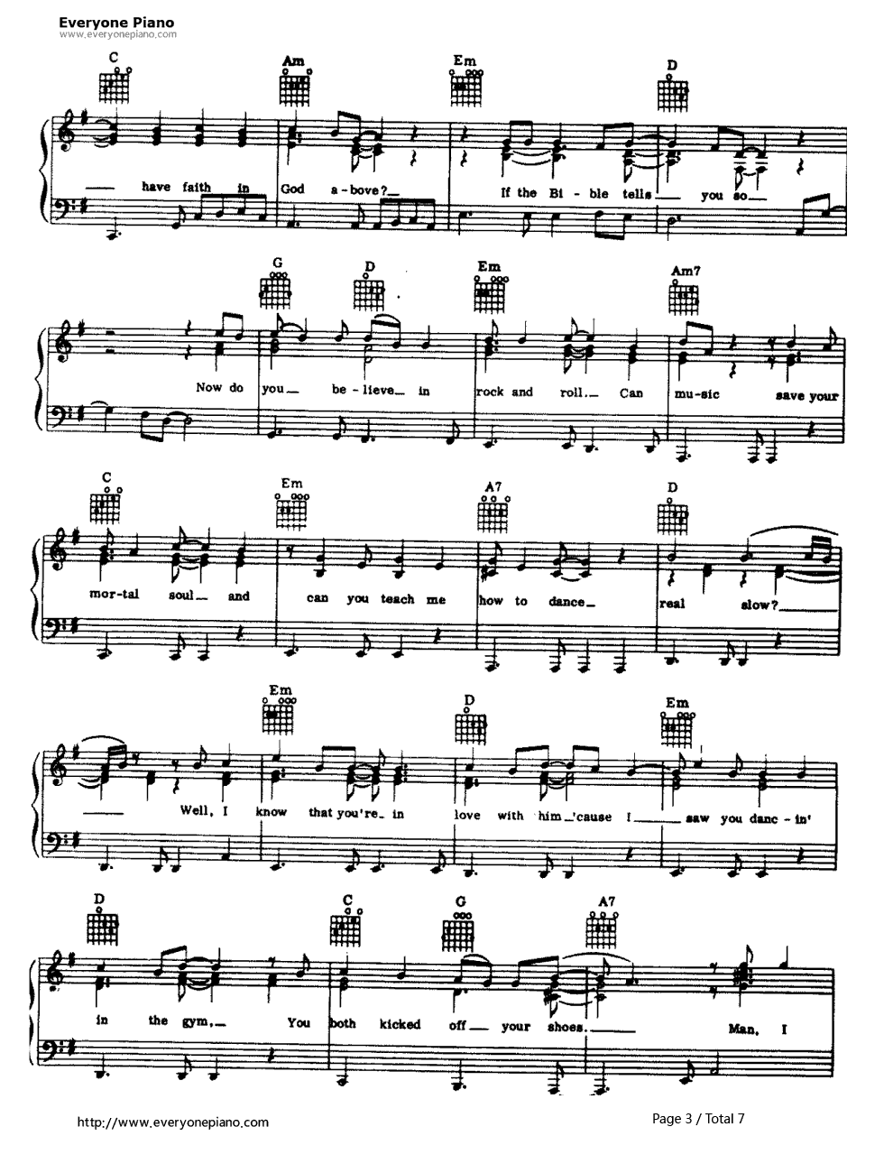 American pie don mclean stave preview 3 free piano sheet music listen now print sheet american pie don mclean stave preview 3 hexwebz Gallery