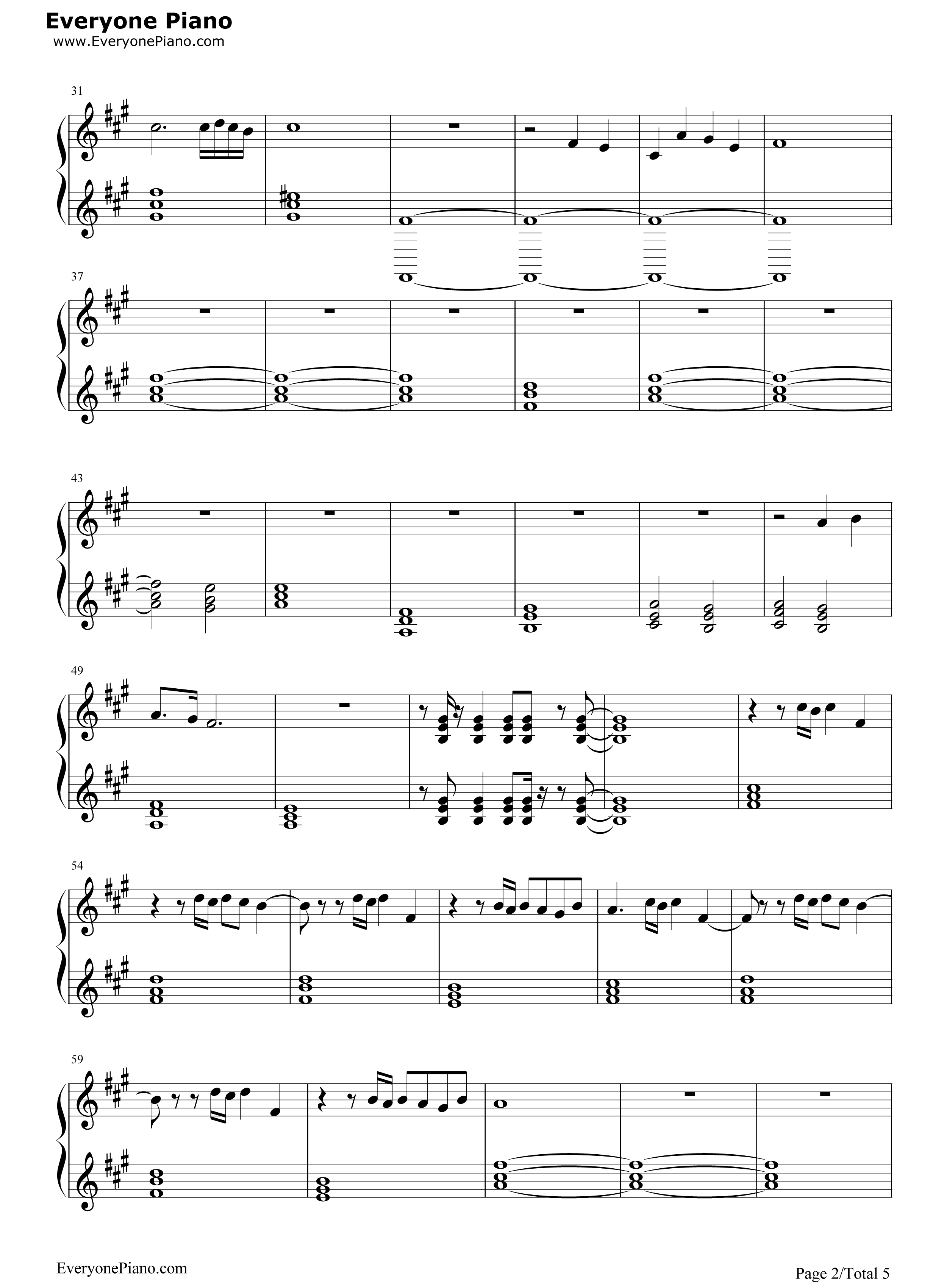 The final countdown europe stave preview 2 free piano sheet music listen now print sheet the final countdown europe stave preview 2 hexwebz Gallery