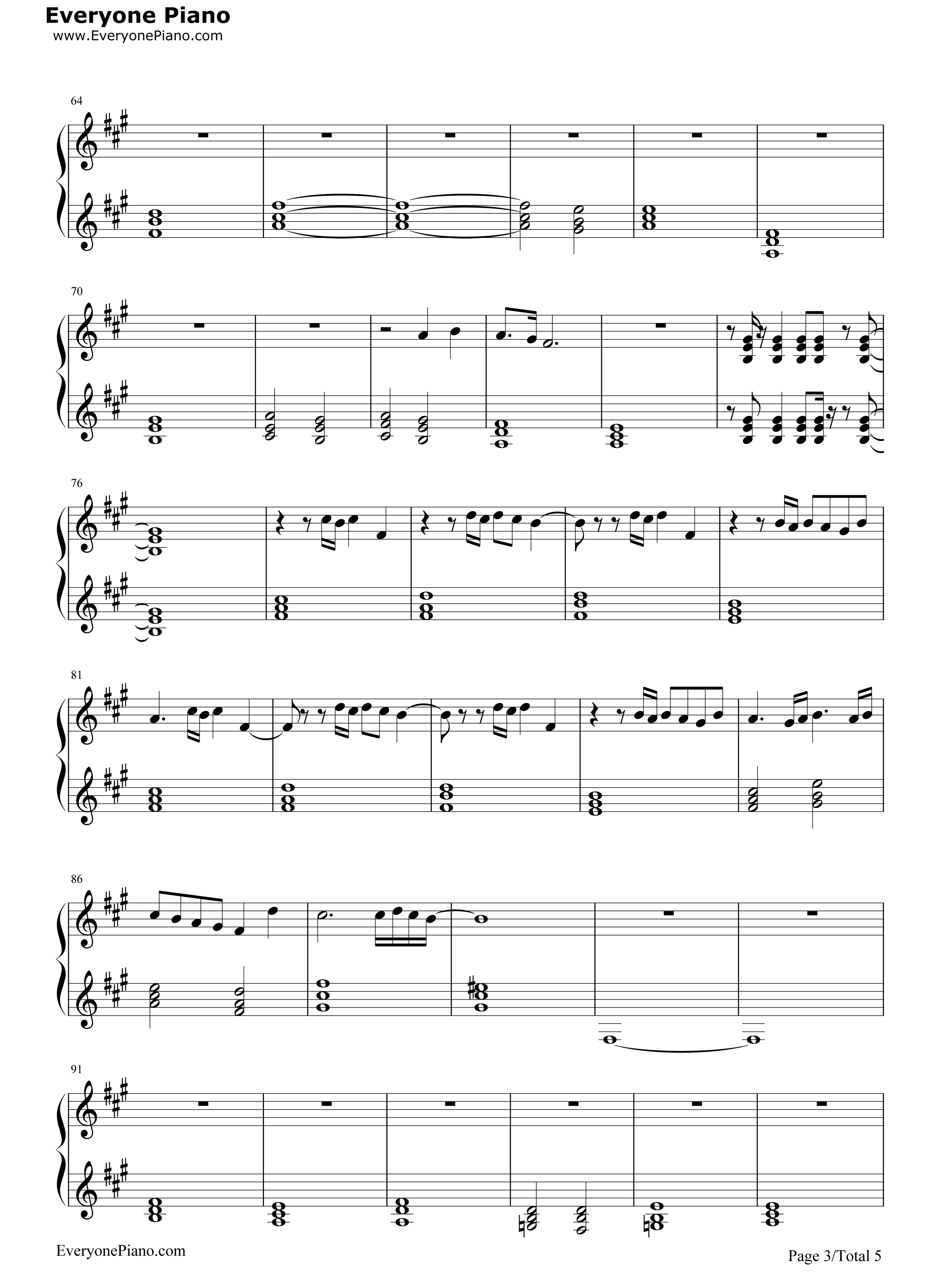 The final countdown europe stave preview 3 free piano sheet music listen now print sheet the final countdown europe stave preview 3 hexwebz Gallery