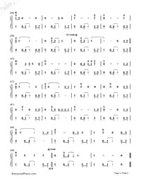 Stand by Me-Ben E. King-Numbered-Musical-Notation-Preview-2