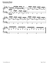vivi-米津玄師五線譜プレビュー3