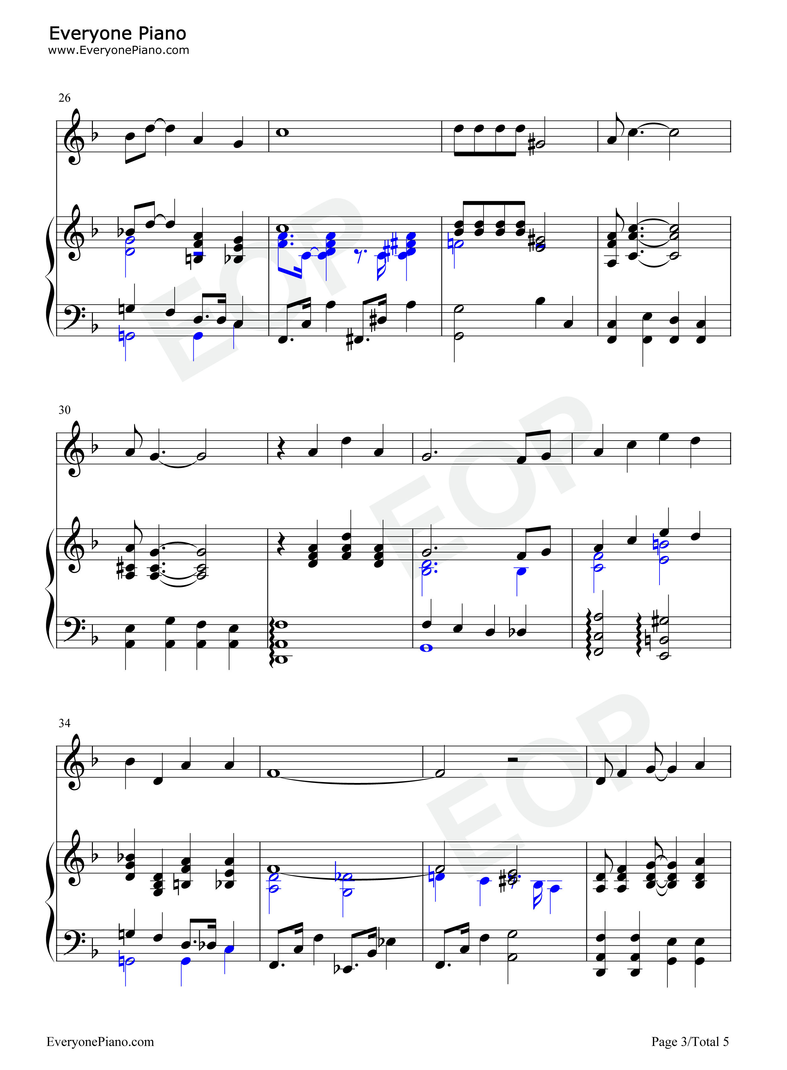 Georgia on my mind ray charles stave preview 3 free piano sheet listen now print sheet georgia on my mind ray charles stave preview 3 hexwebz Image collections