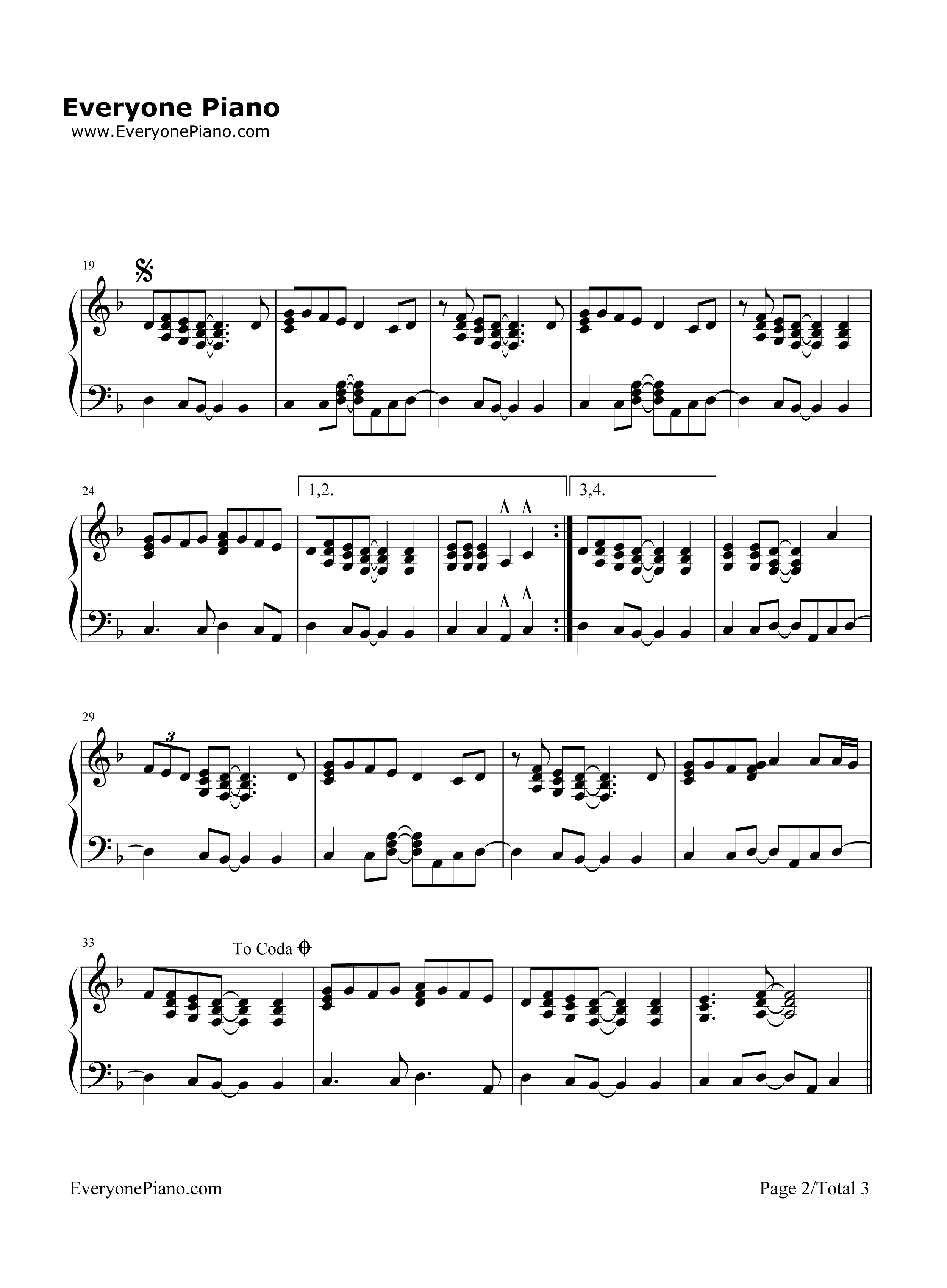 layla piano sheet music pdf