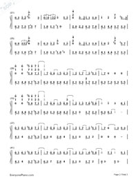 When the Love Falls-Yiruma-Numbered-Musical-Notation-Preview-2