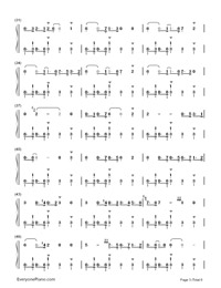 Take Five-Paul Desmond-Numbered-Musical-Notation-Preview-3