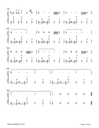 Take Five-Paul Desmond-Numbered-Musical-Notation-Preview-6