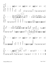 What Are Words-Chris Medina-Numbered-Musical-Notation-Preview-2