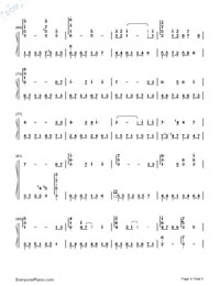 Carrying You-Castle in the Sky ED-Numbered-Musical-Notation-Preview-4