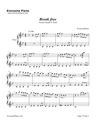 Break Free-Ariana Grande & Zedd Stave Preview 1
