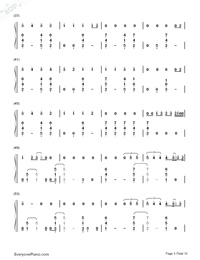 Thinking Out Loud-Ed Sheeran-Numbered-Musical-Notation-Preview-3